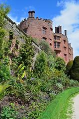 Powis Castle & Garden, Wales (bodythongs) Tags: plants tower castle heritage beauty gardens wales garden nikon britain nt cymru powis national trust keep british cymraeg powys castell coch welshpool d5100 bodythongs