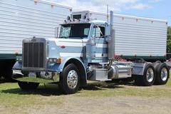 IMG_2846 (RyanP77) Tags: show california b white truck log model shiny trucker international chevy chrome r pete logger gmc peerless kw peterbilt ih kenworth cabover bullnose fruehauf