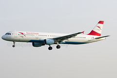 OE-LBE Austrian Airlines A321 London Heathrow Airport (Vanquish-Photography) Tags: london airport heathrow airlines austrian a321 oelbe