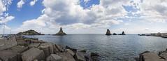 Odysseus encounters (Paco CT) Tags: sea sky italy landscape ita sicilia 2016 acicastello pacoct cyclopeanisles