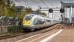 Eurostar E320 passing through Zwijndrecht (Nicky Boogaard Photography) Tags: railroad eurostar ns siemens rail railway db cargo mak nsr koploper 6400 nmbs dbc icr e320 icmm velaro blogistics
