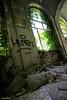 Morbidezza dimenticata (paolaji) Tags: abandoned hospital asylum illness ospedale disagio abbandonato degrado cuscini limbiate mombello psichiatrico