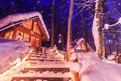 (sic Chiu) Tags: longexposure winter japan night    6d   hokkaid    ninguruterrace ef1635mm    furanoshi