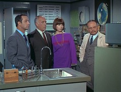 Watching the Admiral's TV debut (Vicki12692) Tags: barbarafeldon donadams getsmart edwardplatt howardcaine