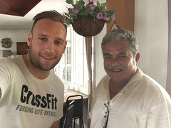 Met Diu, he was the father to Yvonne at Yvonne's hotel and a former Senator on Pohnpei!
