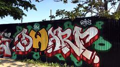(BCalico) Tags: chicago graffiti dwarf w chi lincoln graff wutang wu hermosa armitage towing tang dc5 rtd rtds