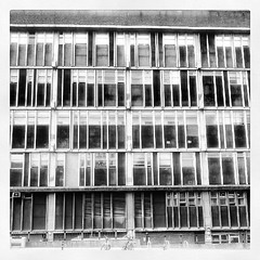 The brutal architecture that is the... (jules hynam) Tags: bw architecture hospital bristol stark infirmary uploaded:by=flickstagram instagram:photo=25416442227292896732916970
