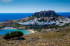 Rhodes, Greece (UltraPanavision) Tags: aegean greece gr rodos rhodes lindos egeo