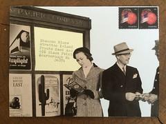 Waiting Room (dcs577) Tags: art collage vintage paper mail postcard paste craft stamp envelope