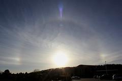 Halo 004 (Az Skies Photography) Tags: arizona sky cloud dog sun dogs skyline clouds canon skyscape eos rebel solar 5 may halo az flagstaff sundog sundogs 2016 flagstaffaz solarhalo arizonasky 5516 t2i arizonaskyline canoneosrebelt2i eosrebelt2i arizonaskyscape may52016 552016