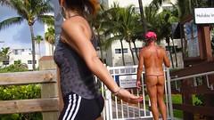 back boardwalk (bmicro2000) Tags: man male tiny gstring torpedo teardrop bulge manthong minimalswimwear microkini microbeachwear