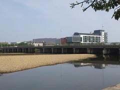 River (Paul McNamara) Tags: ireland river wicklow arklow avocariver bridgewatershoppingcentre