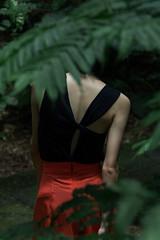 Untitled (Jiayi Lin) Tags: portrait people woman plants art girl fashion dark mom asian photography dance outfit body contemporaryart moda taiwan ou mysterious faceless taipei moment gi lookbook