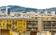 Montmartre Rooftops (DesOMBAKA) Tags: paris france streets color tourism architecture buildings cityscape citylife streetphotography photojournalism touristattraction streetshot travelphotography famousplace internationallandmark traveldestination labuttemontmartre