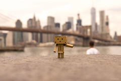 Welcome in My Famous City (Out of Ireland Photography ) Tags: nyc newyorkcity bridge newyork bokeh manhattan danbo outofireland dublinhead dublinheadyahoocom sonya65 outofirelandphotography