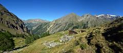Ruins and mountains (supersky77) Tags: alpeggio alp alps alpes alpen ruins rovine granparadiso parconazionaledelgranparadiso pngp cogne aosta valledaosta valledaoste
