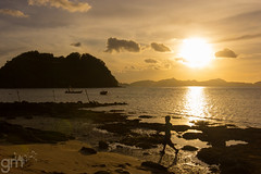 Evening Stroll (-gunjan) Tags: palawan philippines travel wanderlust elnido sunset silhouette southeastasia