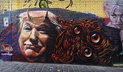 DumpTrump (J-C-M) Tags: street wall art streetart wallart urban city artwork artistic paint painting graffiti grafitti melbourne victoria australia trump donaldtrump presidential candidate heesco