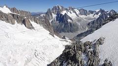 13_Mont-Blanc Panoramic to Helbronnee (Nick Ham100) Tags: chamonix aiguilledumidi utmb