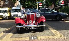 1953 MG - TD (Steenvoorde Leen - 5.1 ml views) Tags: oldtimer classiccar 1953 mg td mgtd sportscar sportwagen british