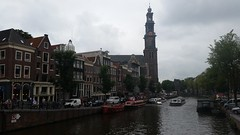 Amsterdam (Michel Curi) Tags: amsterdam netherlands holland nederland centrum dutch iamsterdam schiphol europe grotemarkt canals westerkerk westermarkt buildings edificios structures estructuras arquitectura architecture historic kerk iglesia church catedral cathedral gothic parroquia basilica water boats sail vessel nautical ships annefrankhouse museum
