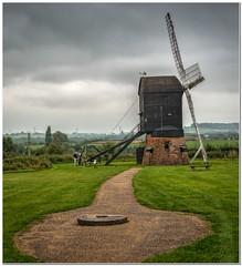 The windmill (Hugh Stanton) Tags: flagstone path steps ladder windmill appickoftheweek