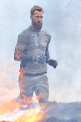 Running with fire (Arndted) Tags: göteborg fire nikon sweden smoke flames gothenburg sigma running sverige obstacle obstaclecourse slottsskogen ex100300f4 d300s toughviking toughviking2015 toughvikinggöteborg toughvikinggöteborg2015