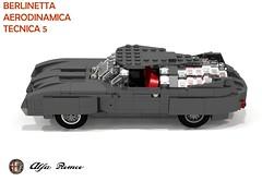 Alfa Romeo BAT5 (Berlientta Aerodinamica Tecnica - Bertone 1953) (lego911) Tags: auto italy classic car model italian lego render bat prototype 1950s 1900 alfa romeo concept batmobile 90 challenge aero cad 1953 lugnuts povray moc tecnica bertone berlinetta aerodynamic ldd foolsrushin miniland aerodinamica bat5 lego911