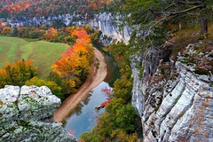 Fall at Roark Bluff (jodell628) Tags: color fall nature leaves river photography buffalo national bluff roark johnodelljr
