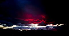 Rogue Valley Sunset (dibec) Tags: sunset sky mountain west oregon canon lens landscape or cc adobe l jacksonville ashland medford lightroom southernoregon