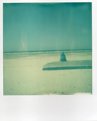 Bunker... (Galle De Muynck-Photographie) Tags: sea sun mer france color de polaroid nord impossible impulse baie somme