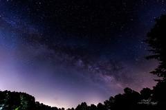 Milky Way (Avisek Choudhury) Tags: nightphotography northcarolina apex gitzo lightpollution milkyway canon1635mmf28lii canon5dmarkiii avisekchoudhury acratechballhead avisekchoudhuryphotography jordonlakenc