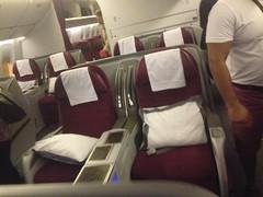 Onboard Oslo - Doha.