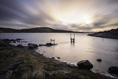Blurry sky and flat sea (pelindquist) Tags: longexposure sea landscape nikon dusk marstrand hav landskap skymning långexponering nikond750 afsnikkor20mm118ged