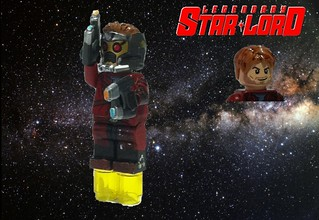 Custom Lego Star Lord