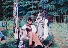 Old picture My lovely mom (quizasleaf) Tags: life china public beauty smile scarf mom student poetry poem chairs space chinese institute 1989 publicart tradition nanjing sunnyday chinesepainting younglady artuniversity chinesegirl