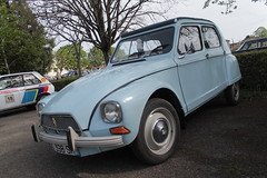 Dyane (xwattez) Tags: auto old france car french automobile citroen citron voiture transports dyane gaillac ancienne 2015 rtro franaise vhicule boursedchange