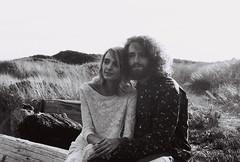 Danielle and Josh (shawn_fajardo) Tags: ocean wedding sea people mountain love film beach car 35mm nikon 60s couple fuji minolta kodak retro cannon 70s pontiac gto elope filmisnotdead