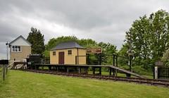 Gotherington West Station (davids pix) Tags: west station board gloucestershire destination warwickshire 2015 gotherington festivalofsteam 25052015