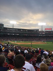 Post Rain Skies (JenGallardo) Tags: boston ma massachusetts redsox fenway fenwaypark mlb playball