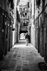 Coming back at home ... (alessandrafinocchiaro67) Tags: street old venice white man black monochrome loneliness streetlife manual fx solitary nikond750