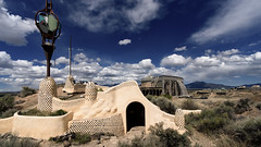 Earthship Construction Project (LDMcCleary) Tags: newmexico solar taos recycledmaterials earthship passivesolar greenconstruction biotecture offthegrid rammedearth waterharvesting