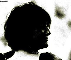 black and gold (archgionni) Tags: light portrait woman smile hair donna shadows retrato profile ombre sorriso ritratto luce capelli profilo