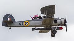 RN Historic Flight Fairey Swordfish Mk.I W5856 '4A' (Hugh Dodson) Tags: flight historic airshow fairey rn 4a airday yeovilton rnas rnasyeovilton royalnavalairstation w5856 swordfishmki