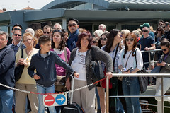 Waiting... (Lady Haddon) Tags: venice people italy queue burano