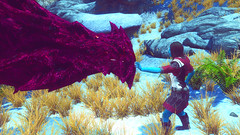 26 (Beth Amphetamines) Tags: blue winter red wallpaper white snow race star screenshot mod dragon alien wars custom chimera invasion chiss skyrim riashe evittalex