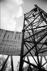 Chernobyl Exclusion Zone, Cooling Tower (St Prie) Tags: 35mmfilm ilfordhp5plus400 vivitarultrawideandslim vuws
