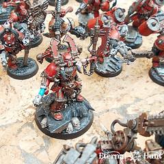 Khorne's Eternal Hunt 2016 (9) (KrautScientist) Tags: world army chaos space 40k marines xii hunt legion eternal csm betrayer eaters khorne kharn khornes