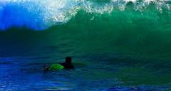 in front of the green wave - Tel-Aviv beach (Lior. L) Tags: sea beach surf action surfer wave surfing infrontofthegreenwavetelavivbeach