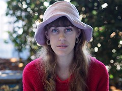 Poppy (Peter Grifoni) Tags: street family blue portrait people hat hub eyes flickr group olympus stranger peter human portraiture poppy f18 newtown zuiko 45mm uber omd the em1 grifoni gtpete63 gtpete